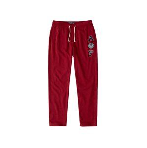 Abercrombie & Fitch Kalhoty 'CORE LOGO CLASSIC RED'  červená