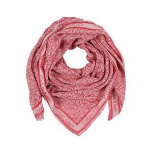 Calvin Klein Látková rouška 'CK MONO J SCARF 130x130'  růžová