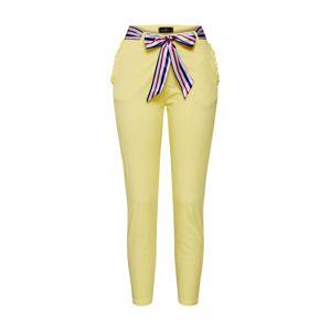 Zwillingsherz Kalhoty  modrá / žlutá / bílá
