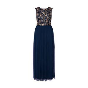 LACE & BEADS Společenské šaty 'Andorra Maxi'  námořnická modř