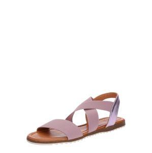 Apple Of Eden Páskové sandály 'Beta'  béžová / pink