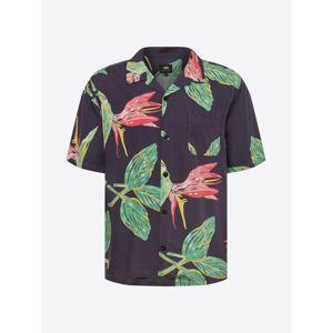 EDWIN Košile 'Resort Shirt'  zelená / červená / černá