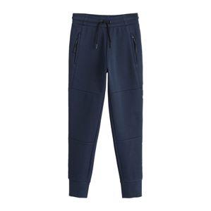 MANGO KIDS Kalhoty  námořnická modř