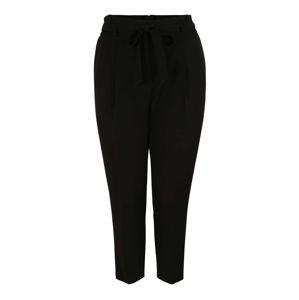 New Look Curves Kalhoty se sklady v pase 'MILLER '  černá