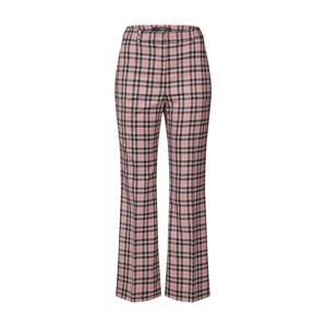 Weekend Max Mara Chino kalhoty 'CAIRO'  růžová / černá
