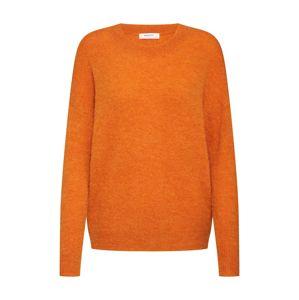 MOSS COPENHAGEN Svetr 'Femme Alpaca O Pullover'  oranžová