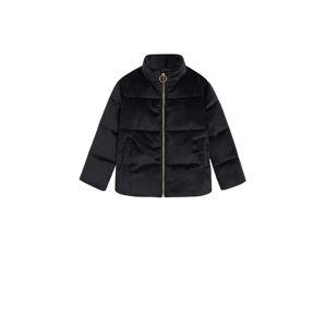 MANGO KIDS Zimní bunda  černá