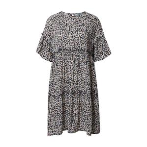 Moves Letní šaty 'Giral'  námořnická modř / bílá / zelená