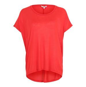 Mbym Oversized tričko 'Proud'  ohnivá červená