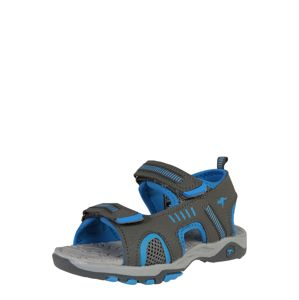 KangaROOS Otevřená obuv 'Logan'  modrá / tmavě šedá