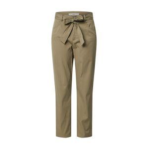 BRAX Kalhoty se sklady v pase 'STYLE.MELO'  zelená