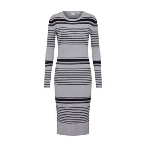 GAP Úpletové šaty 'RIB COLUMN'  šedá