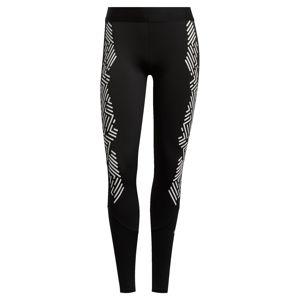 ADIDAS PERFORMANCE Sportovní kalhoty 'ASK GRPHIC L T'  bílá / černá