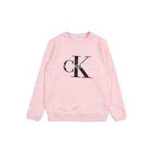 Calvin Klein Jeans Mikina  růžová