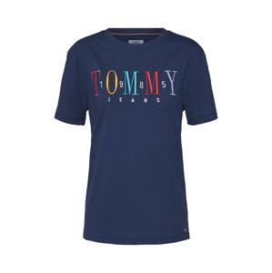 Tommy Jeans Tričko  námořnická modř / mix barev