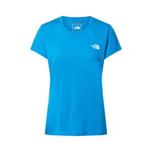 THE NORTH FACE Funkční tričko 'Reaxion'  modrá / bílá