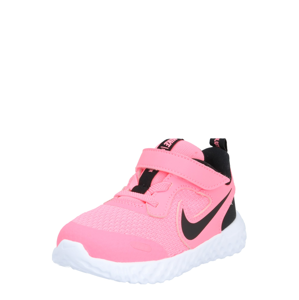 NIKE Sportovní boty 'Revolution 5'  černá / pink