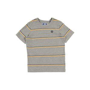 Jack & Jones Junior Tričko  žlutá / šedá / černá