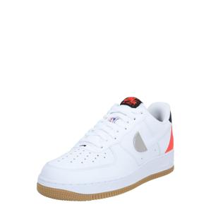 Nike Sportswear Tenisky 'Air Force 1'  červená / bílá / černá