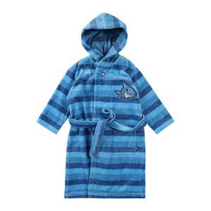 SCHIESSER Koupací plášť  tmavě modrá