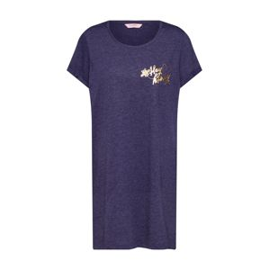 Hunkemöller Noční košilka 'Nightie SS R-Neck Bee'  modrá