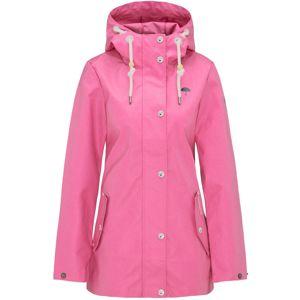 Schmuddelwedda Přechodná bunda  pink / černá / bílá