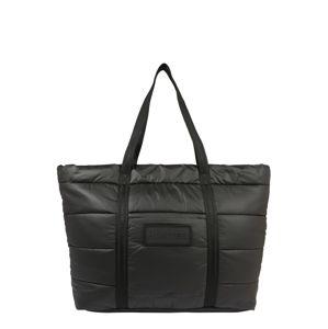 HUNTER Nákupní taška 'ORIGINAL PUFFER TOTE'  černá