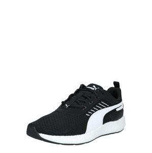 PUMA Sportovní boty  bílá / černá