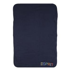 ESPRIT Dětská deka  tmavě modrá / mix barev
