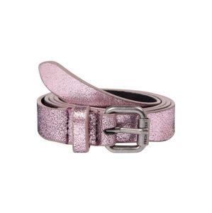 FREDsBRUDER Opasek 'Small Flashy Belt'  stříbrně šedá / pink
