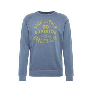JACK & JONES Mikina 'Jeans'  námořnická modř