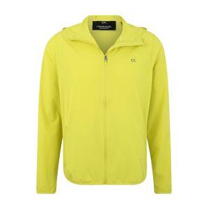 Calvin Klein Performance Sportovní bunda 'WIND JACKET'  svítivě žlutá