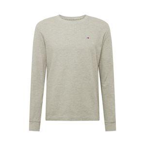 Tommy Jeans Tričko 'WAFFLE'  světle šedá