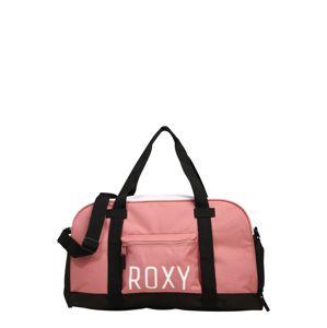 ROXY Sportovní taška  bílá / růže / černá
