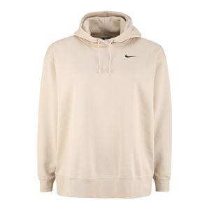 Nike Sportswear Mikina  béžová / černá