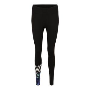 Hey Honey Sportovní kalhoty  fialkově modrá / černá