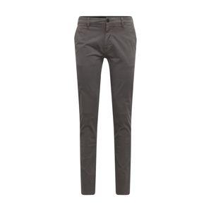 BOSS Chino kalhoty 'Schino-Slim'  šedá