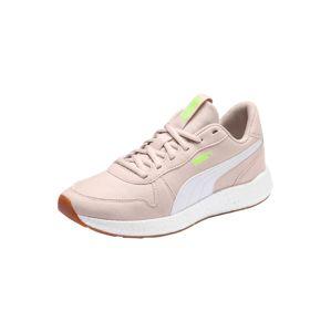 PUMA Sportovní boty 'NRGY Neko Retro'  svítivě zelená / pudrová / bílá