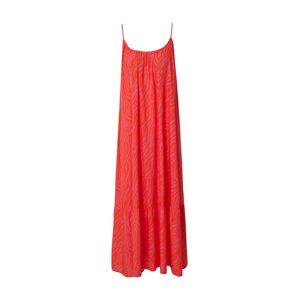 DELICATELOVE Letní šaty 'Stuff Zebra'  pink