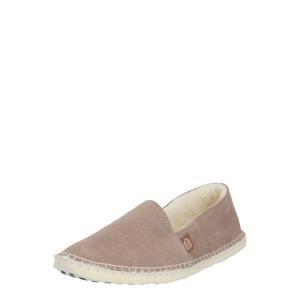 espadrij l´originale Pantofle  šedobéžová