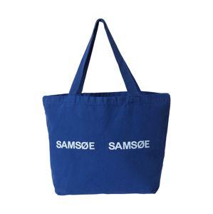 Samsoe Samsoe Nákupní taška 'Frinka'  modrá