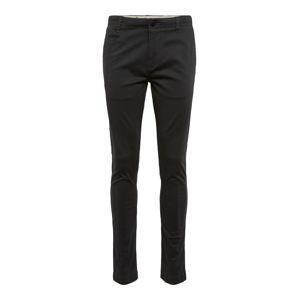 KnowledgeCotton Apparel Chino kalhoty 'Pistol Joe'  černá