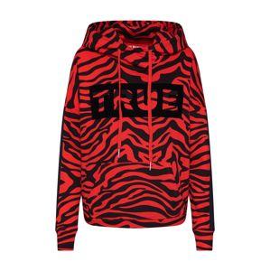 True Religion Mikina 'Hoodie Zebra'  oranžová