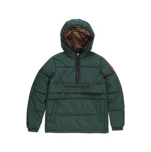 Jack & Jones Junior Zimní bunda  tmavě zelená