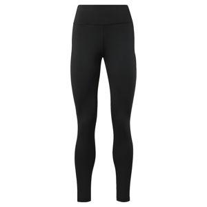 REEBOK Sportovní kalhoty  bílý melír / šedá / černá