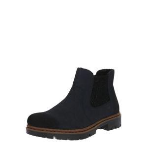RIEKER Chelsea boty  námořnická modř