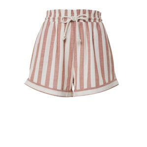 EDITED Kalhoty 'Nirina'  růžová / bílá