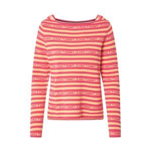 Tommy Jeans Svetr  oranžová / tmavě růžová