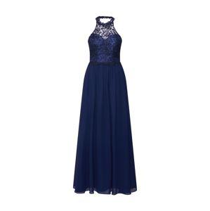 Mascara Společenské šaty 'LACE HALTER'  námořnická modř