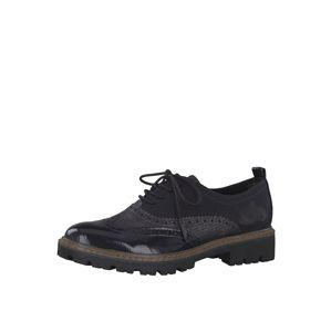 MARCO TOZZI Šněrovací boty  námořnická modř
